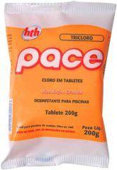 Tablete Desinfetante para piscinas pace tripla ação Embalagem individual 200 g - HTH