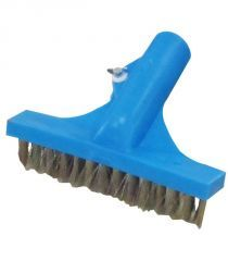 Escova Aço Inox 25 cm Azul 25 cm - Sodramar